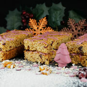 Jewelled orange and cranberry flapjack additional 1