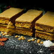 Festive Golden Caramel Flapjack additional 1