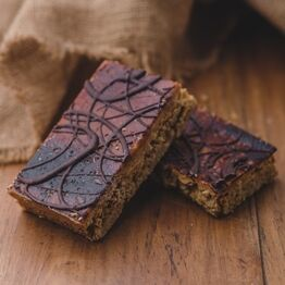 Burnt Caramel And Sea Salt Flapjack