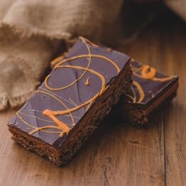 Double Chocolate Orange Flapjack
